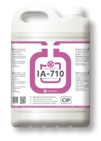 DESINFECTANTE de ACIDO PERACETICO 5% IA710 GARRAFA DE 25 KG