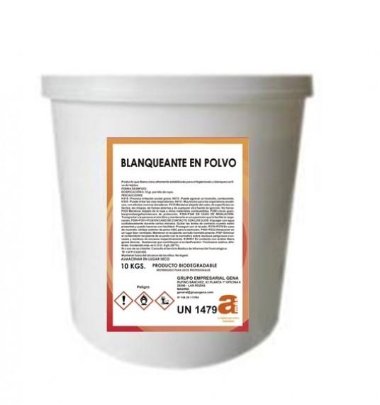 BLANQUEANTE ROPA BLANCA AMAS CUBO 10Kg