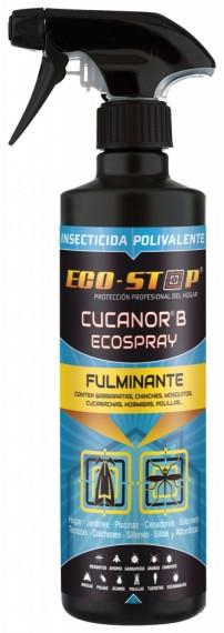 CUCANOR B ECOSPRAY MOSCAS Y MOSQUITOS PULV. DE 500 ml