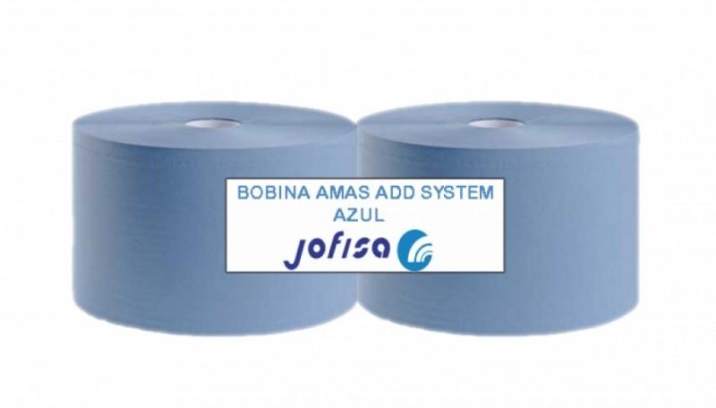 BOBINA  INDUSTRIAL ADD SYSTEM AZUL. Paquete de 2 bobinas.