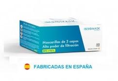 CAJA DE 50 MASCARILLAS QUIRUGICAS USO MEDICO TIPO IIR